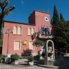 Rathaus und Post von Moscenicka Draga