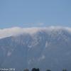 Kurz vor der Abfahrt sehen wir leider die ersten Wolken / Nebel am Gipfel des Schneebergs