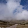 Wolken und blauer Himmel begleiten uns bis zur Fischerhütte