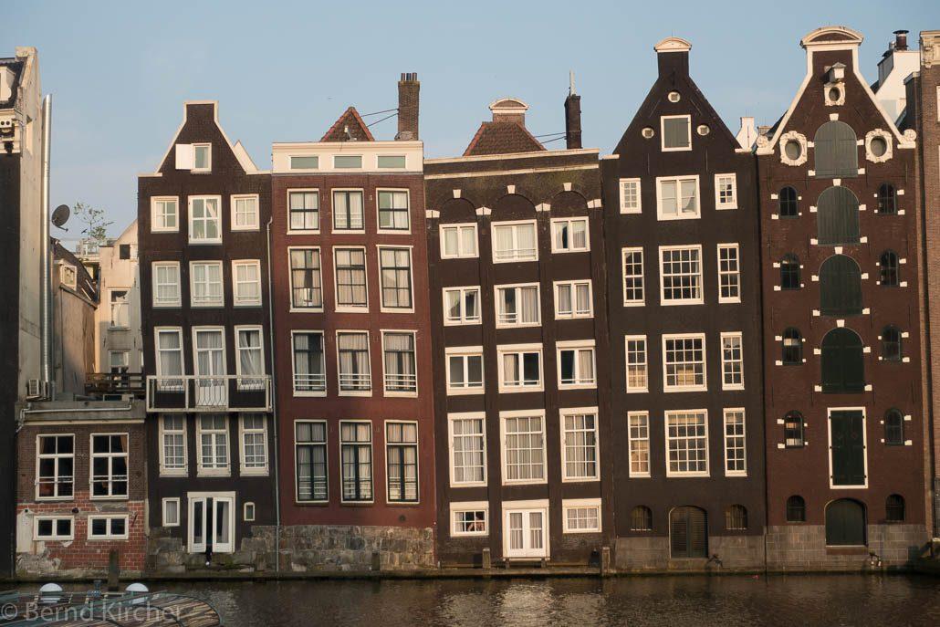 Amsterdam - Häuserzeile