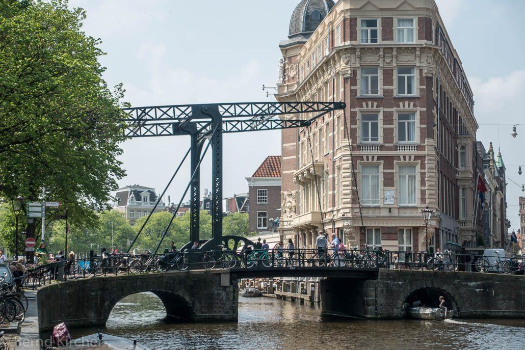 Amsterdam - Ziehbrücke