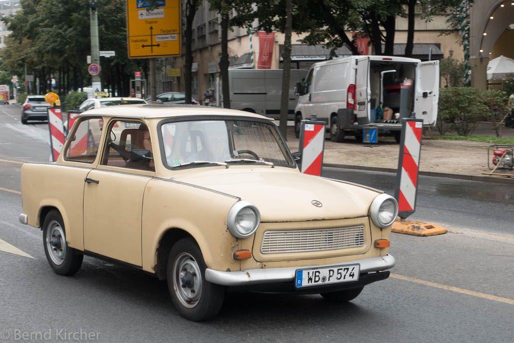 ein Trabi in Berlin
