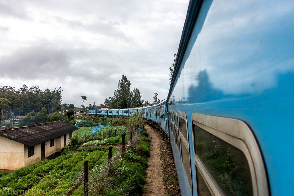 Zugfahrt nach Bandarawela