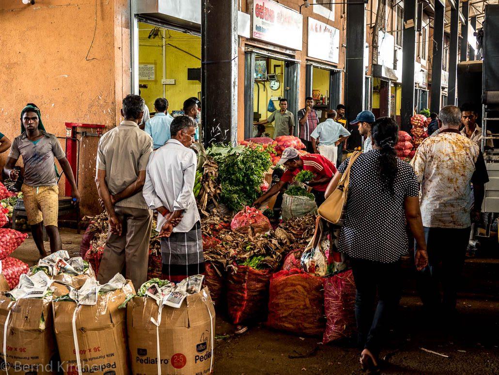Gemüsemarkt in Dambulla