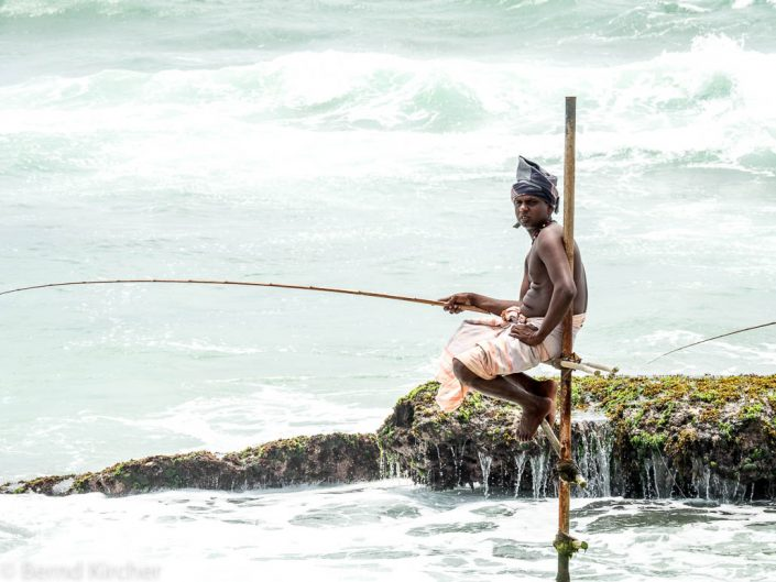 Stelzenfischer von Ahangama
